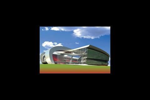 Liverpol FC stadium design by HKS